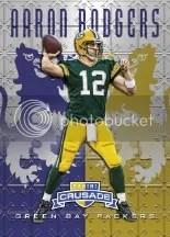 2013 Rookies & Stars Aaron Rodgers Crusade