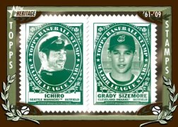 2010 Topps Heritage Stamps