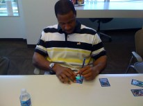 Jason Heyward Signing 2010 Bowman Baseball Cards
