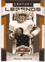 Archie Manning Jersey Card