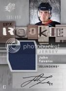 John Tavares SPX Sp Rookie Auto Jersey #180