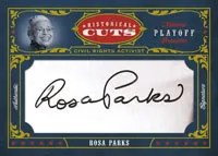Playoff National Treasures Cut Auto Cards