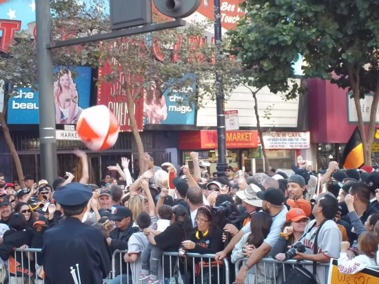 San Francisco Giants Parade Beach Ball
