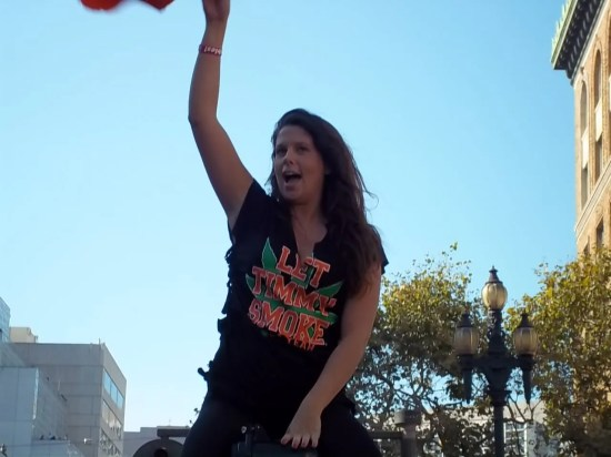 2010 SF Giants Parade Let Timmy Smoke T-Shirt