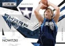Dirk Nowitzki 2009/10 Panini Basketball NBA Sharp Shooters Insert
