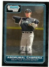 Asdrubal Cabrera Bowman Chrome RC