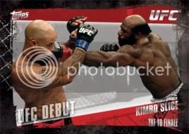 2010 Topps UFC Debut Checklist