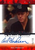 2010 Razor Poker Orel Hershiser Super Rare Autograph