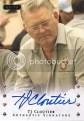 2010 Razor Poker TJ Cloutier Autograph