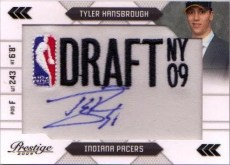 Tyler Hansbrough 2009/10 Panini Prestige RC Draft Patch