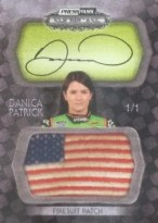 2010 Press Pass Showcase Danica Patrick Jumbo USA Auto Patch