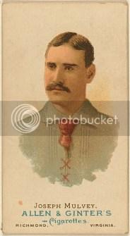 1888 Vintage Joseph Mulvey Allen Ginter Tobacco Card