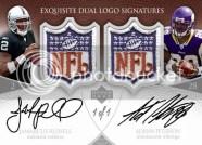 NFL Shield Dual Logo Patch Cards
