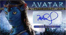 Cancelled Avatar Trading Card