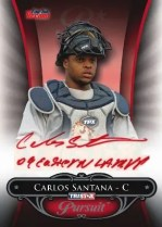 2010 TriStar In Pursuit Series 2 Carlos Santana