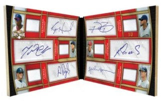 2010 Triple Threads Relic Double Combo 6 Auto