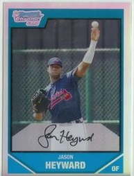 2007 Bowman Chrome Jason Heyward RC