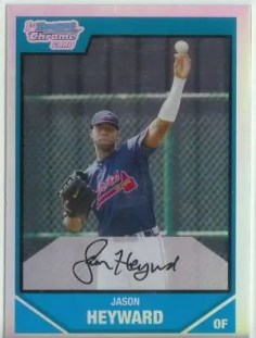 Jason Heyward Bowman Chrome RC