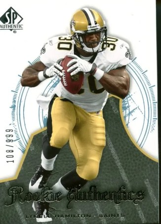 Lynell Hamilton 2008 Upper Deck Sp Authentic RC /999