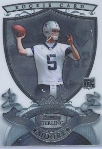 2007 Bowman Sterling Matt Moore RC Card