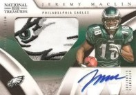 Jeremy Maclin 2009 National Treasures Auto Patch RC