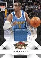 Chris Paul 2009/10 Panini Threads Base Card