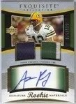 Aaron Rodgers Exquisite RC Rookie Card