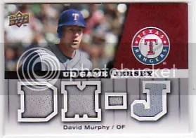 2009 Upper Deck David Murphy Jersey
