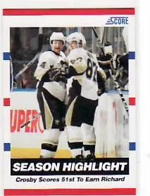 2010/11 Score Hockey Sidney Crosby Season Highlight Card