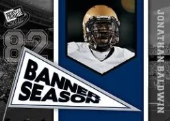 2011 Press Pass Football Banner Season Jonathan Baldwin