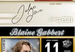 2011 Press Pass Blaine Gabbert Reflectors