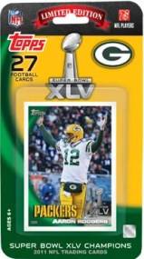 2010-2011 Green Bay Packers Topps Super Bowl Team Set