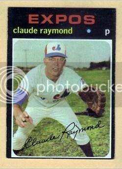 1971 Topps Claude Raymond #536