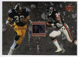 1997 UD Legends Payton/Harris Marquee Matchups