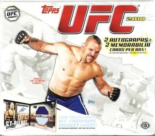 2010 Topps UFC Trading Card Hobby Box