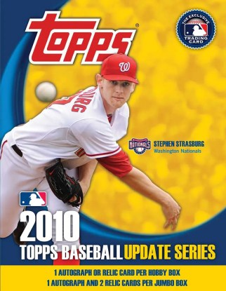 2010 Topps Update Series Baseball Box