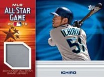 2010 Topps Update Series Ichiro All Star Game Relic