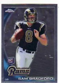 2010 Topps Chrome Sam Bradford Rookie RC