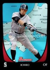 2011 Bowman Ichiro Internatinal Parallel