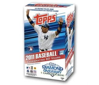 2011 Topps Baseball Series 1 Box