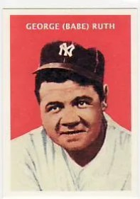 2011 Topps Babe Ruth 1932 US Caramel