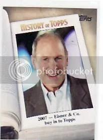 2011 Topps History of Topps Michael Eisner