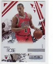 2009/10 Longevity Derrick Rose Ruby /250