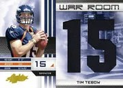 2010 Playoff Absolute Memorabilia Tim Tebow War Room