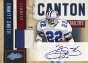 2010 Playoff Absolute Memorabilia Emmitt Smith Canton Autograph