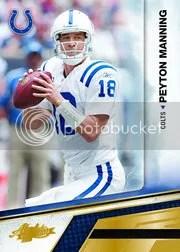 2010 Playoff Absolute Memorabilia Peyton Manning
