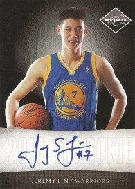 2010-11 Panini Limited Jeremy Lin Autograph RC