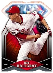 2011 Topps 60th Anniversary Roy Halladay Diamond Redemption Card