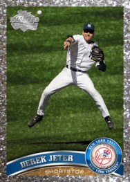 2011 Topps Series 1 Platinum Diamond Parallel Derek Jeter