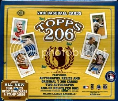 2010 Topps 206 T-206 T206 Baseball Hobby Box